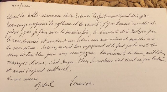 Commentaire de Michel et Veronique