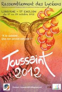 Affiche Toussaint 2012