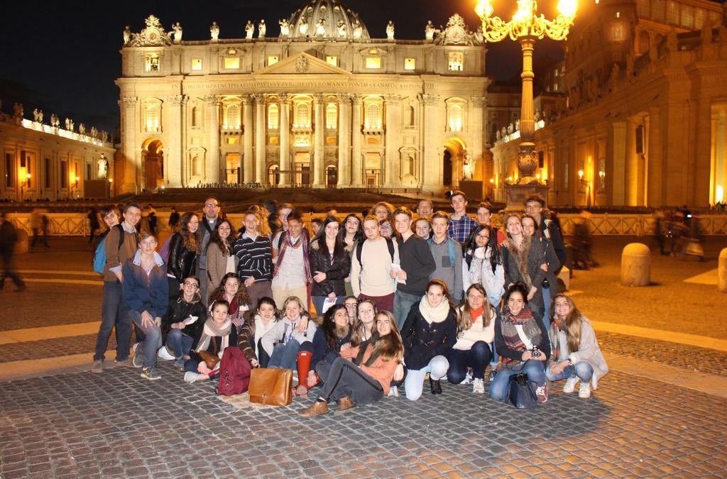 Pèlerinage des Lycéens à Rome (2015)