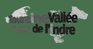 Logo niveaux de gris Touraine Vallée de l'Indre