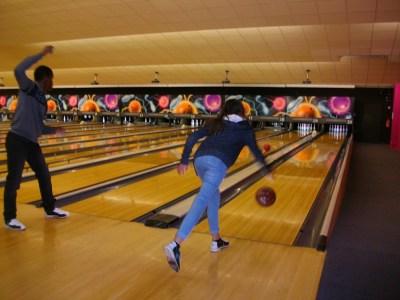 Une sympathique sortie au bowling !