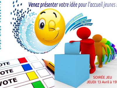 Soirée élection à l'Accueil Jeunes Artannes !