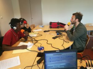 Enregistrement de l'interview d'Antoine Gounet