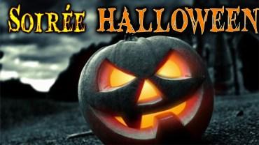 Affiche de la soirée Halloween