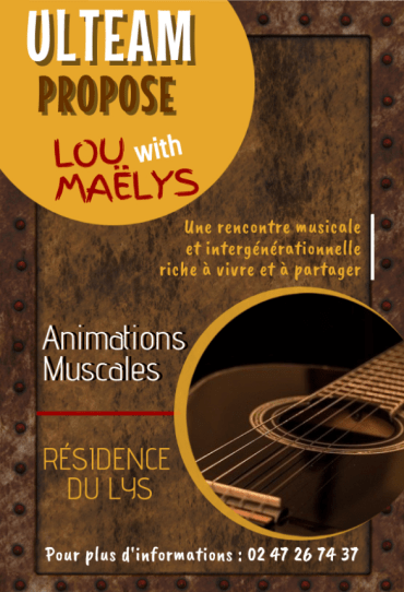 Affiche Lou et Maëlys Résidence du Lys