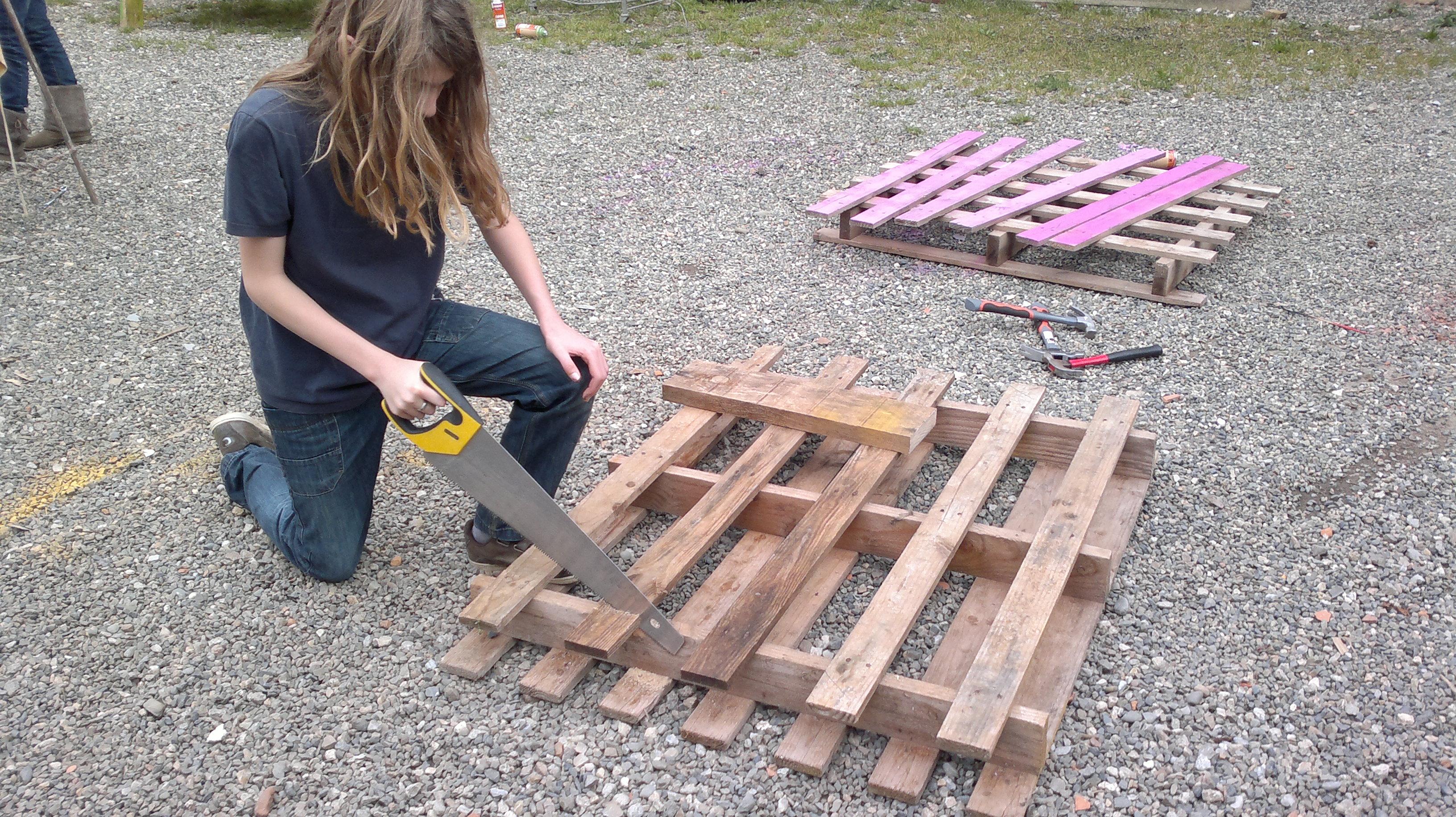 Fabriquer Une Table De Jardin Avec Un Touret | 1001 43 Idées Astuces ...