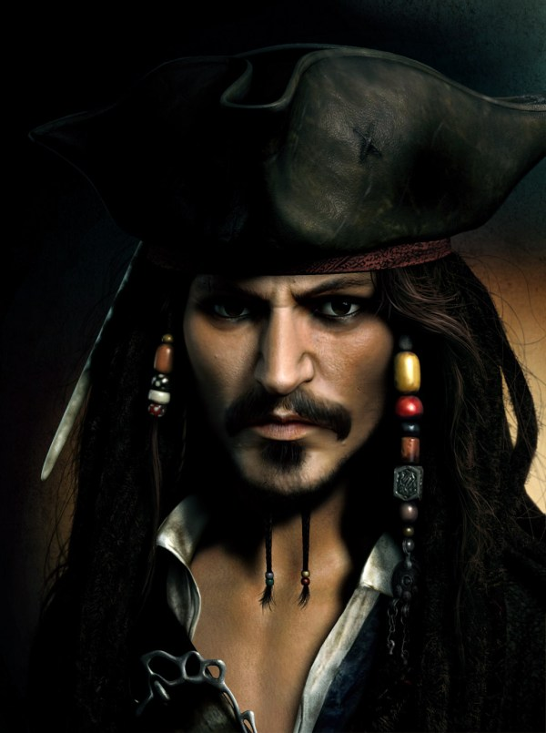 Captain Jack Sparrow Character