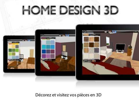 Home Design 3D By LiveCAD HD Anuman Lance Une Opération Deco