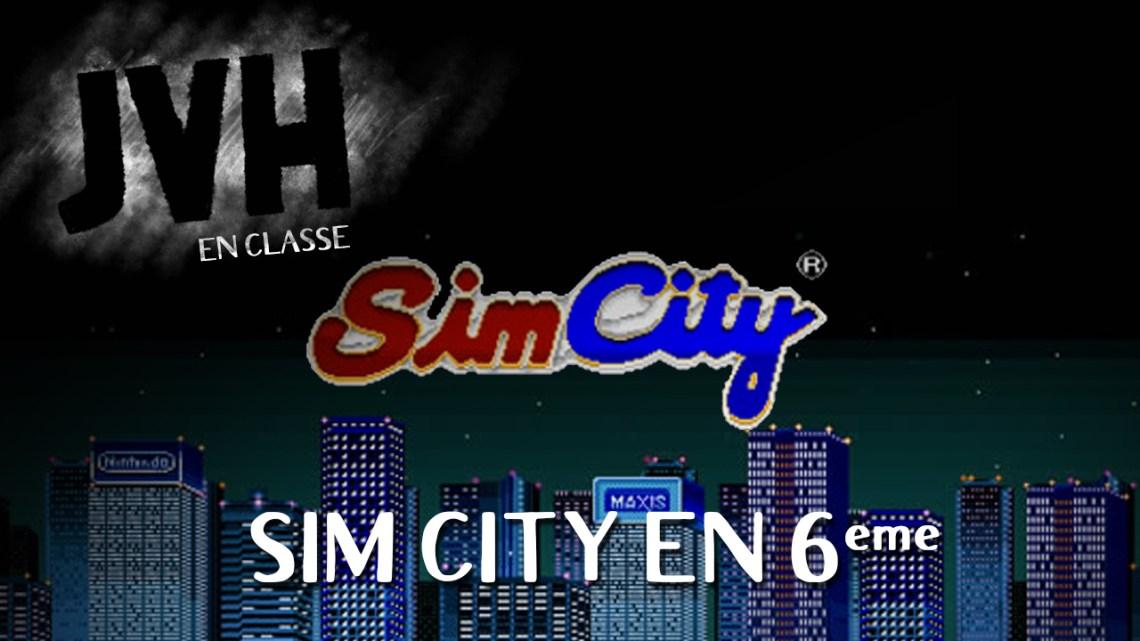 Sim City en classe de 6e