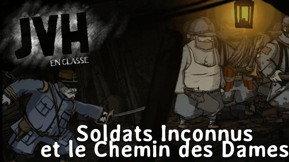 Soldats Inconnus en classe : le cas du Chemin des Dames