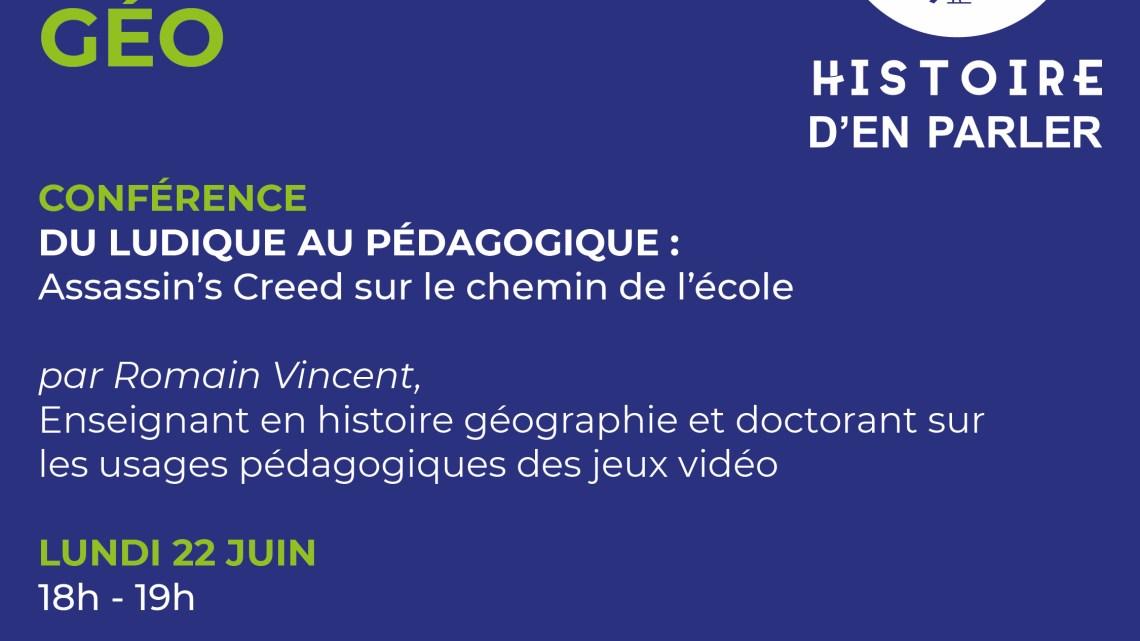 Conférence – Assassin's Creed sur le chemin de l'école