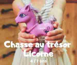 chasse au trésor licorne à télécharger