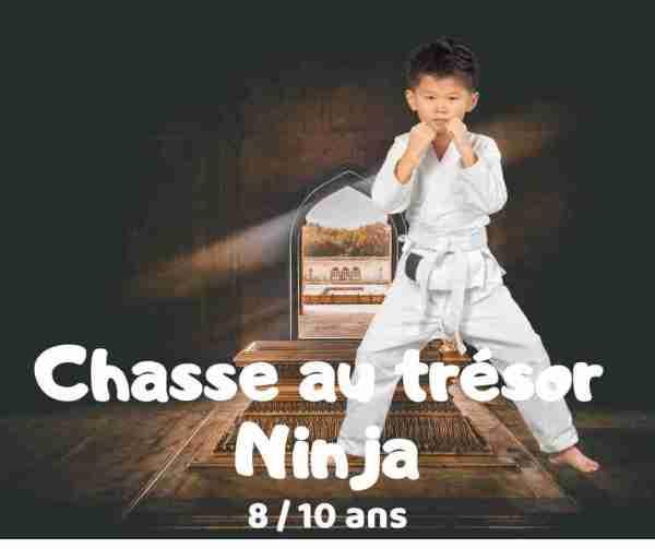 chasse au trésor ninja à imprimer