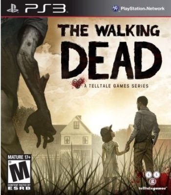 walking dead ps3 box art