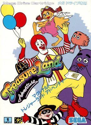 McDonalds Treasure Land Adventure_front