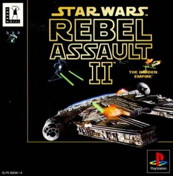 star wars rebel assault II japan PS1