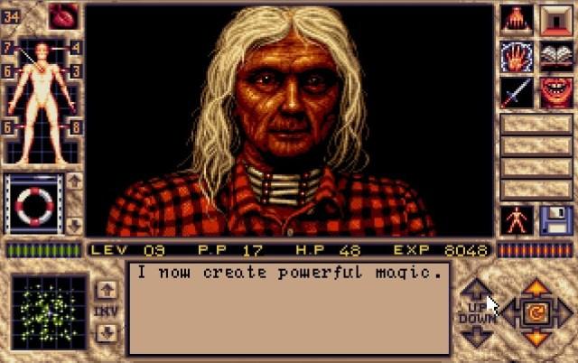 4822498cfecf05 Soluce rétrocompatible   Elvira II  The Jaws Of Cerberus (Amiga ...