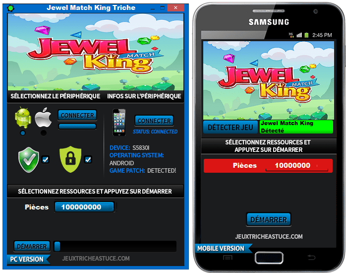 Jewel Match King cheats