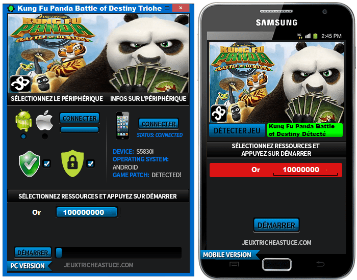 Kung Fu Panda Battle of Destiny Triche,Kung Fu Panda Battle of Destiny Astuce