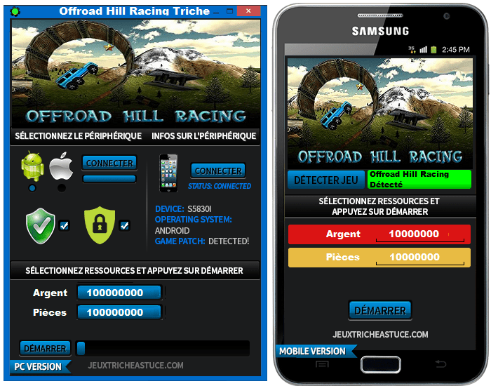 Offroad Hill Racing Triche,Offroad Hill Racing Astuce,Offroad Hill Racing pirater