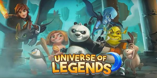 DreamWorks Universe of Legends Triche Astuce Lunes