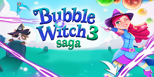 Bubble Witch 3 Saga Astuce Triche Barres d'Or et Vies Gratuit