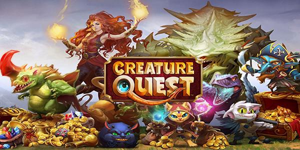 Creature Quest Triche Astuce Or et Diamants Illimite