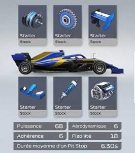 Starter car