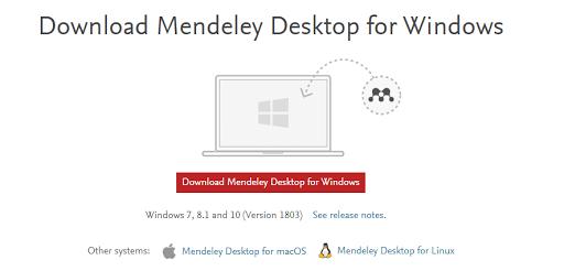 Mendeley for your RRL