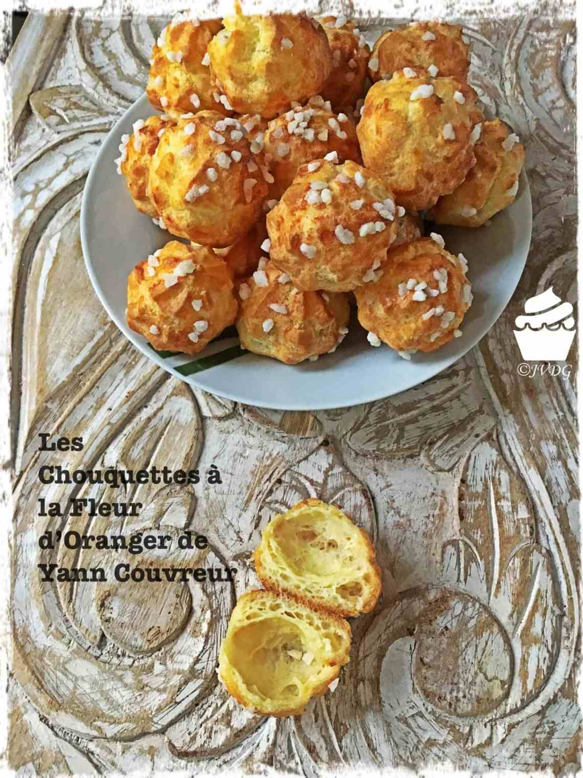 Les Chouquettes A La Fleur D Oranger De Yann Couvreur Je