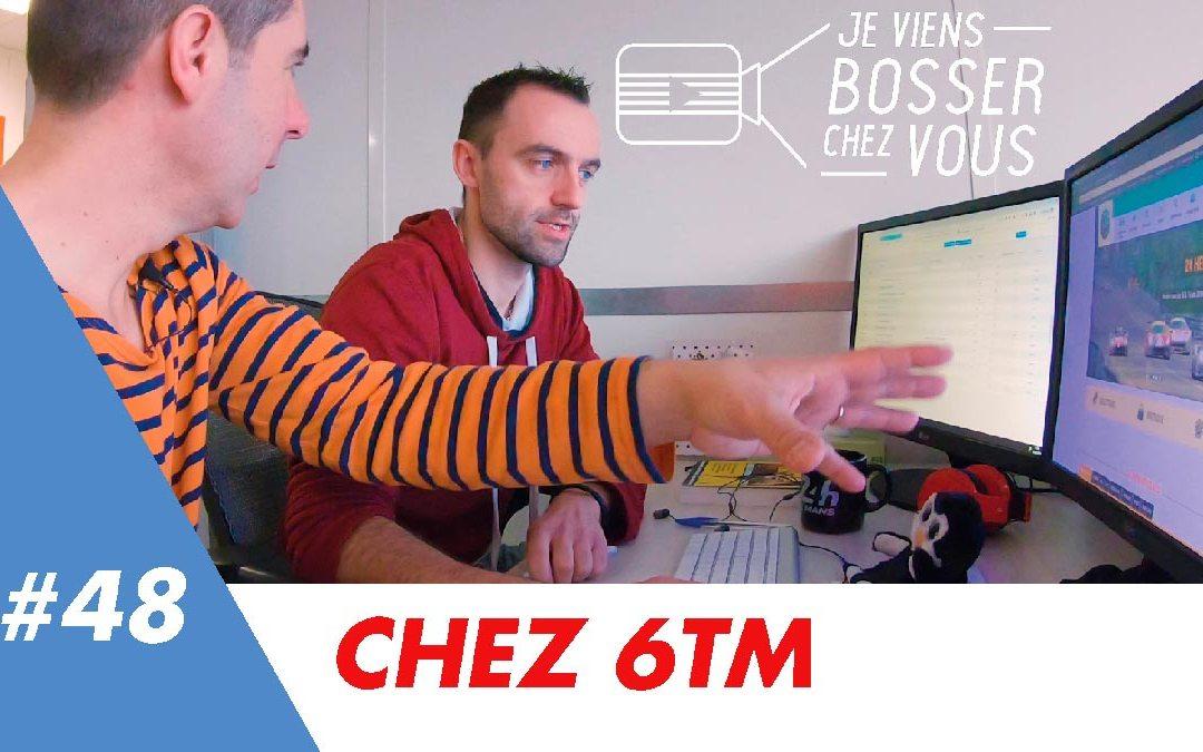 À la rencontre du job de Vincent chez 6TM qui recrute à Rennes et Nantes !