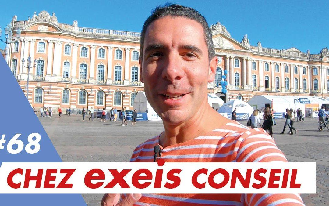 Je vais à Toulouse fêter les 10 ans d'Exeis Conseil…