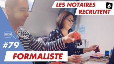 En quoi consiste le métier de formaliste chez un notaire ?