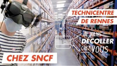Vol immersif au cœur du Technicentre SNCF de Rennes