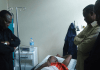 Mh Joshua Nassari Akiwa Amelazwa Hospitali ya Selian na Mh Peter Pinda Waziri Mkuu