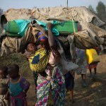 Akina- mama na- watoto waadhirika wakubwa wa vita vya- Kongo na M23