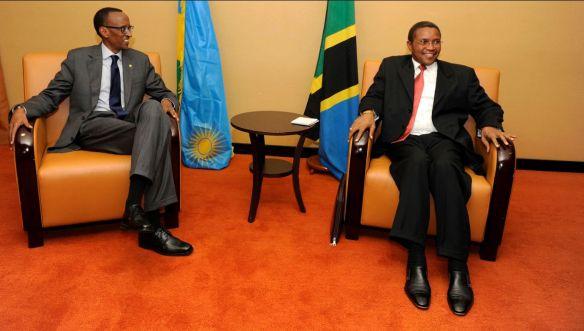 Paul Kagame na Jakaya Mrisho Kikwete Wakishiriki Mkutano wa ICGR Kampala Uganda 5 Septemba 2013