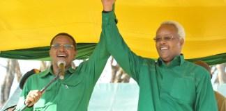 Edward Lowassa na Jakaya Kikwete CCM
