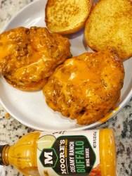 Buffalo Fried Chicken Sandwiches