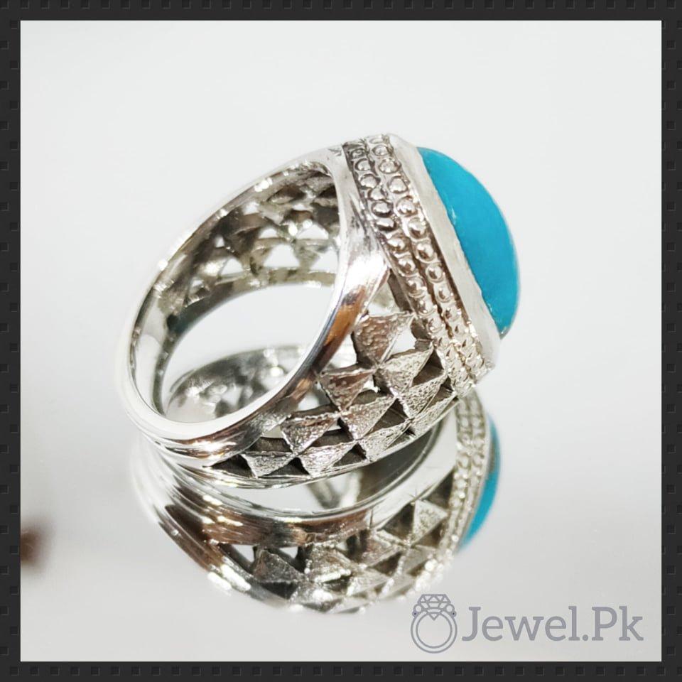 Nishapuri Feroza Ring in silver 925 1