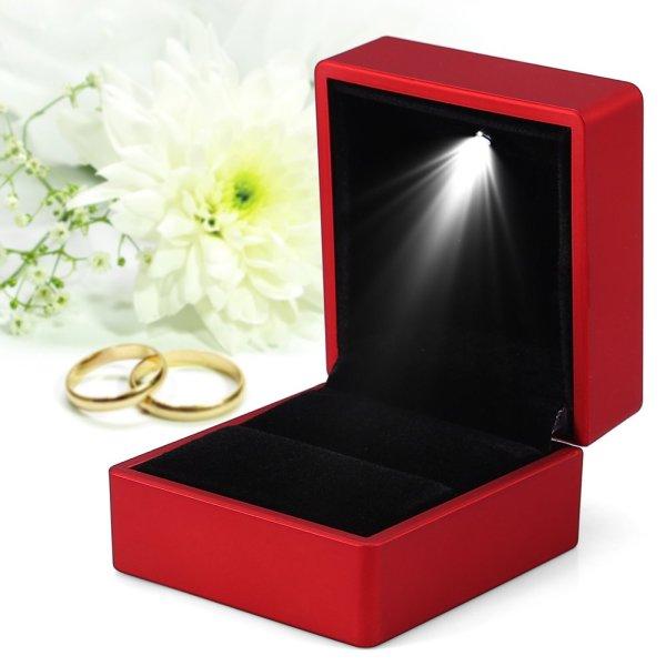 Light box for rings.