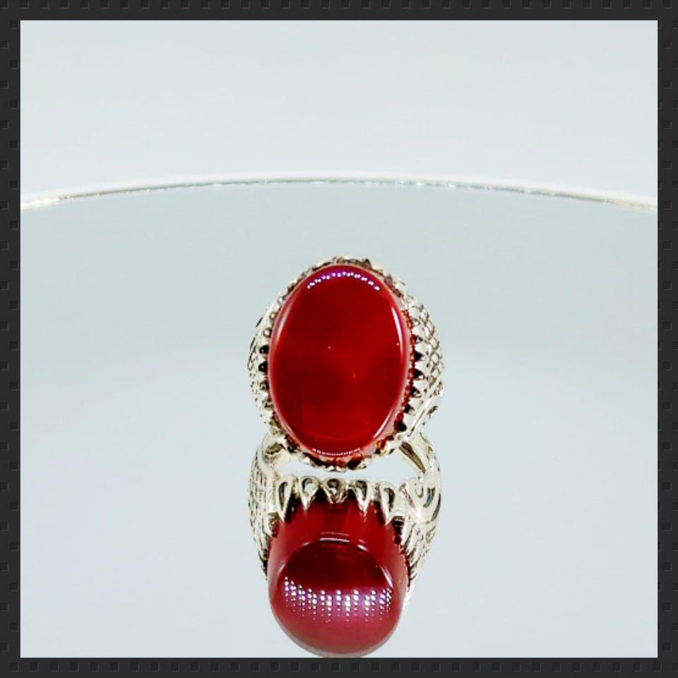 Yemini - Irani Aqeeq Agate in Silver 925 Ring buy online in pakistan