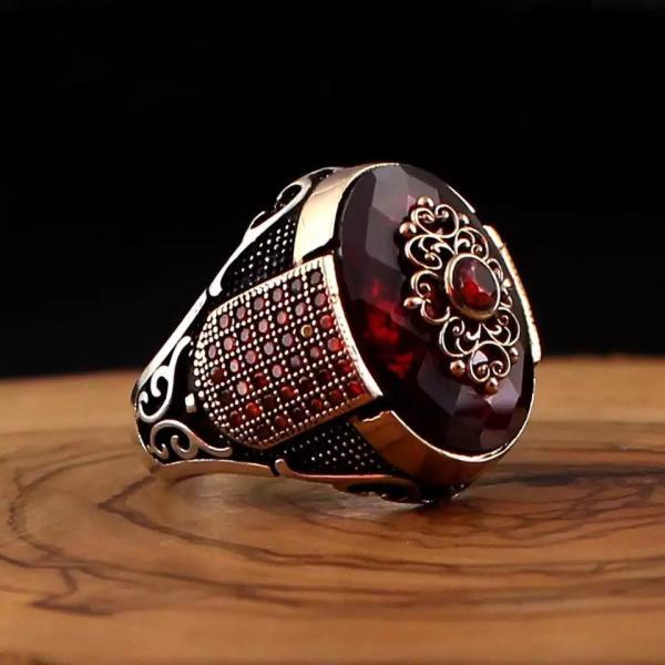 Luxury-Turkish-925-Silver-Handmade-Ring