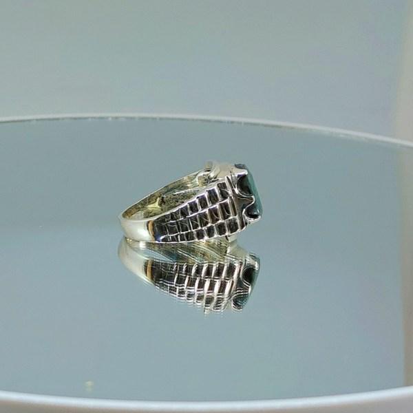 Luxury Rolex - Emerald Ring Buy in Pakistan - Handmade ring 925 Silver