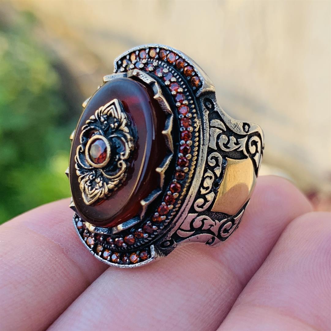 Luxury Turkish 925 Silver Ring Buy Online in Pakistan