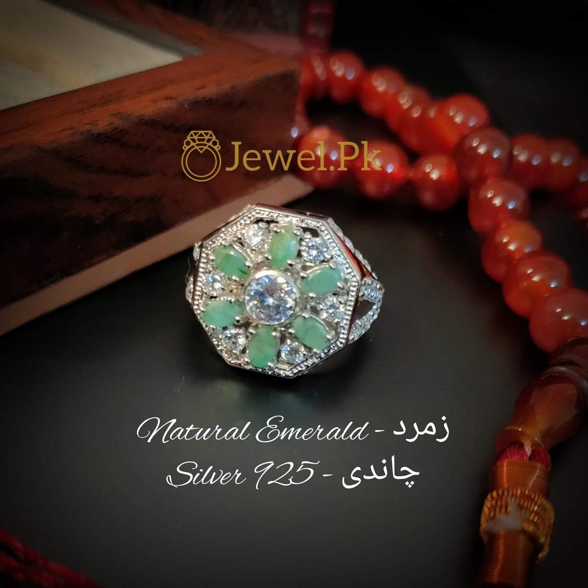 Emerald - Zamurd Ring