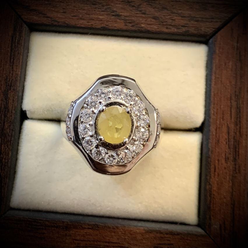 Yellow Sapphire Ring - Pukhraj Ring in Pakistan