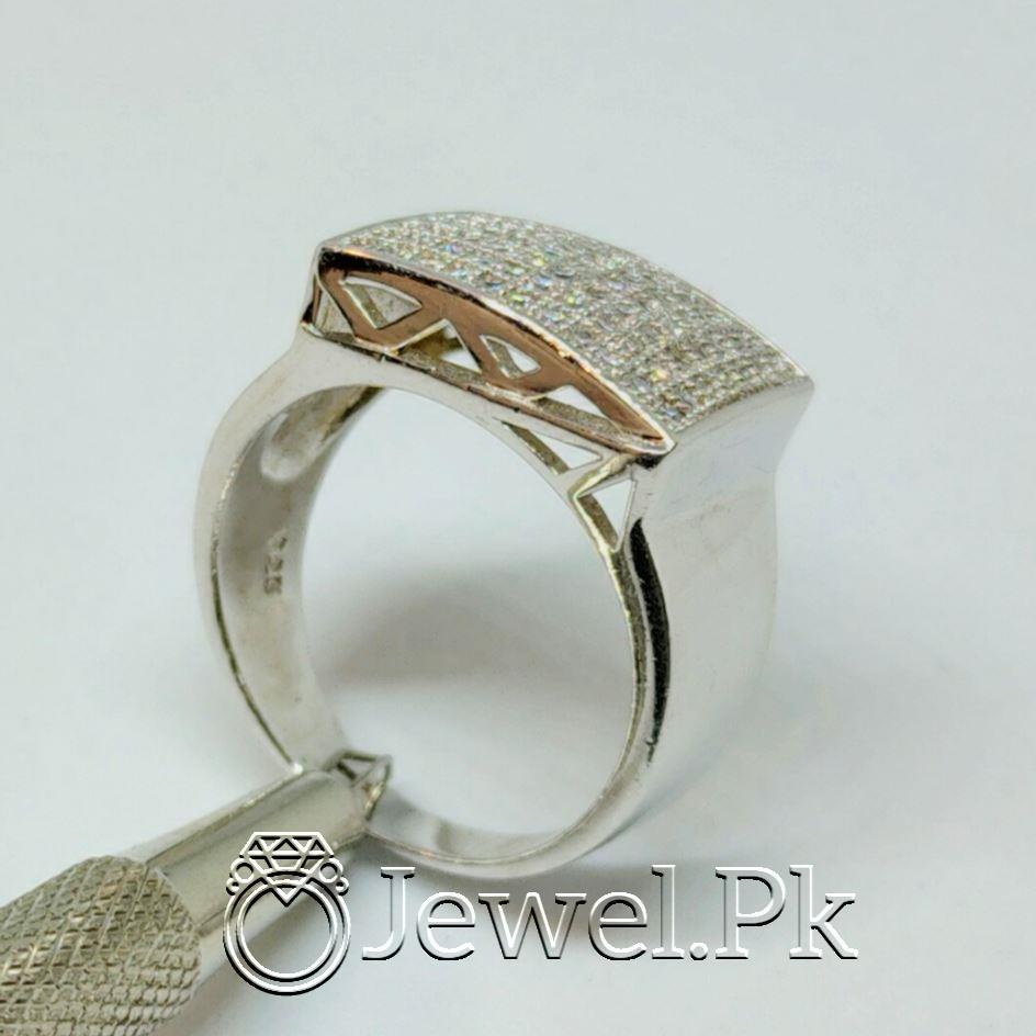 Luxury Italian Rings for men Very Beautiful Italian Zircon Rings for man 11 natural gemstones pakistan + 925 silver jewelry online