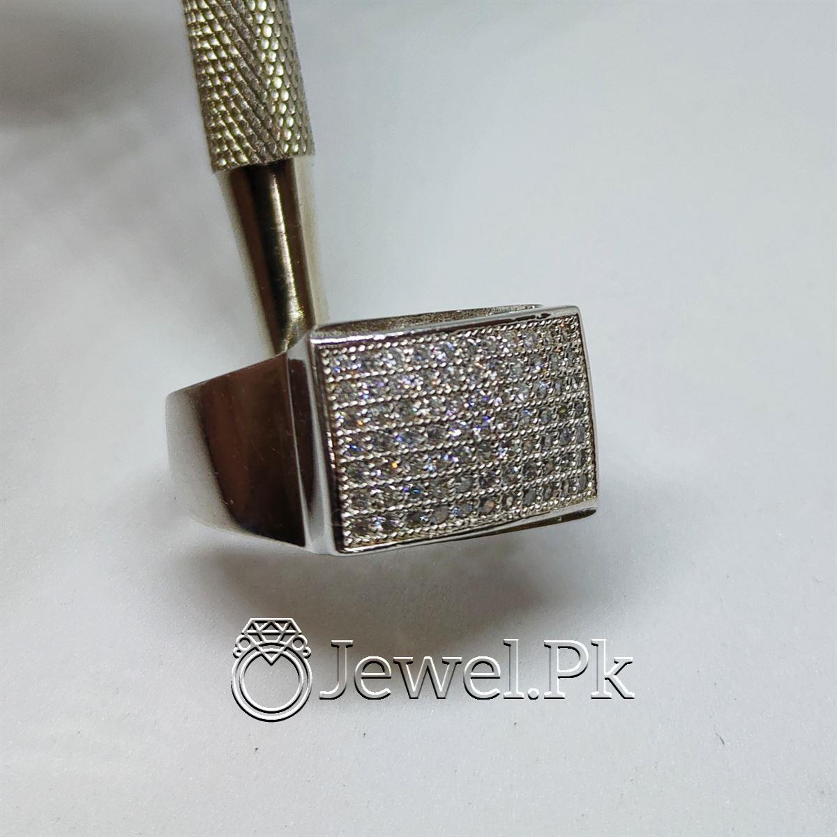 Luxury Italian Rings for men Very Beautiful Italian Zircon Rings for man 12 natural gemstones pakistan + 925 silver jewelry online