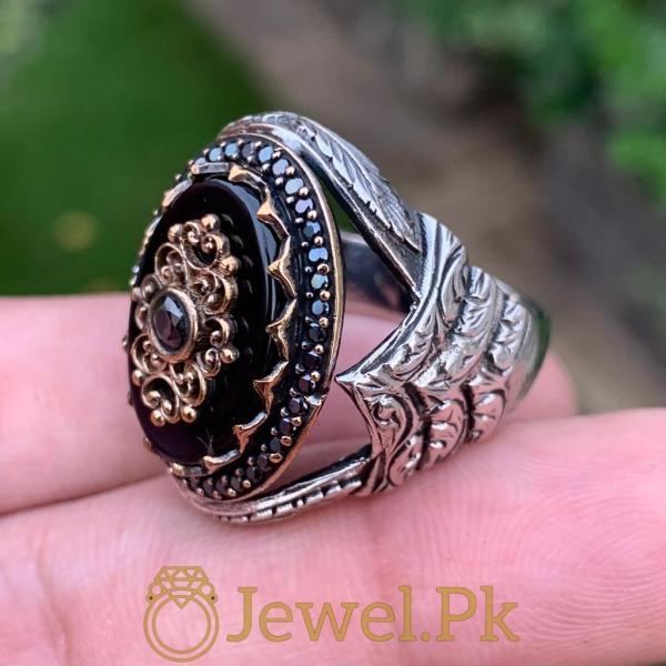 925 Silver Turkish Ring - Luxury Jewelry - Ottoman Ring